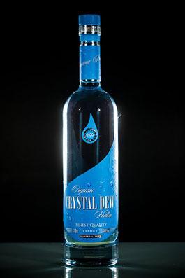 "Bio (organic) vodka ""Crystal Dew"""